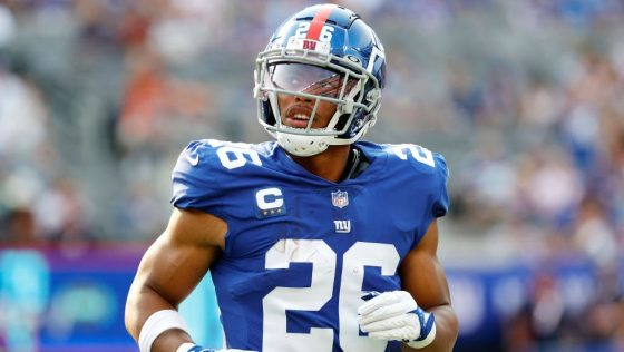 Saquon Barkley: It's a blessing to get back on the field